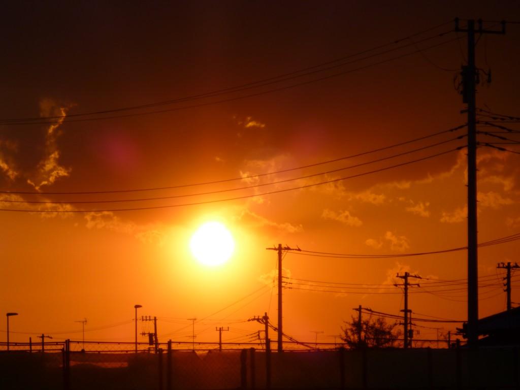 これまで見たことのないほど大きな太陽